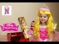 Игрушки Принцессы Диснея Костюм Принцесса Аврора Кукла Белль украшения и сладости от Disney mp3