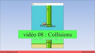 video08 - FlappyBird - Collisions
