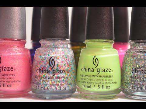 My Top 10 China Glaze Nail Polishes