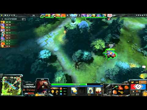 G League QF - Vici Gaming vs LGD CN - Game 2