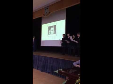 The Marist Yr 8 Assembly on Anti-Slavery