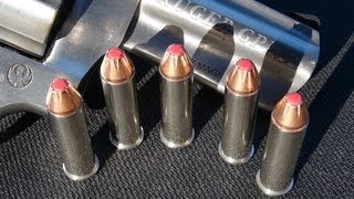 .357 Magnum Hornady Critical Defense Ammo Gel Test