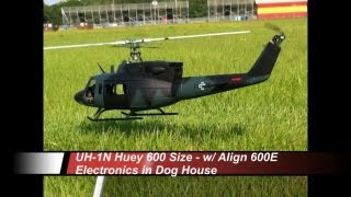 UH-1N Huey 600 Size - RC Aerodyne - Maiden Flight at Orlando Speed World