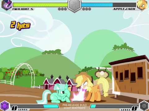 Game   MLP Fighting Is Magic Gameplay part 4 Sweet Apple Acre   MLP Fighting Is Magic Gameplay part 4 Sweet Apple Acre