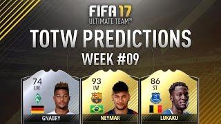 Fifa 17 TOTW Predictions #9 Ft. IF Neymar, IF Lukaku, IF Depay, IF Payet & More!
