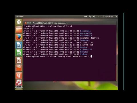 Ubuntu Linux 12.04   Permisos Usuarios y Grupos
