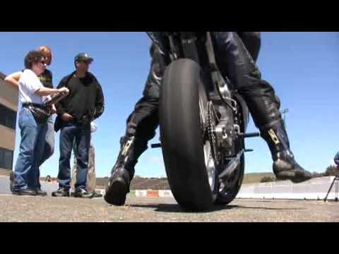 Electric Motorcycles at Infineon Raceway Video