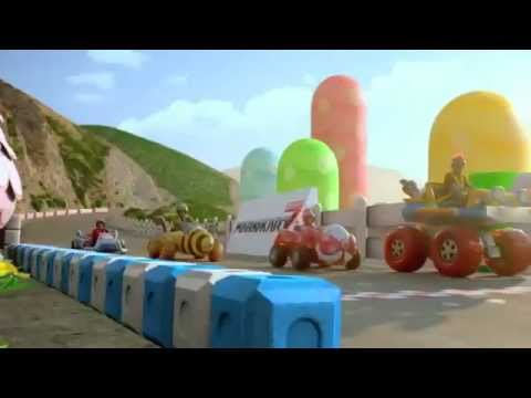 Mario Kart 7 Commercial for the 3DS