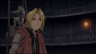 Edward and Alphonse vs Huskisson - Fullmetal Alchemist the Movie: Conqueror of Shamballa