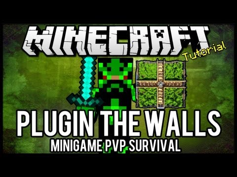 [Tutorial]The Walls - Minigame PVP Survival Minecraft