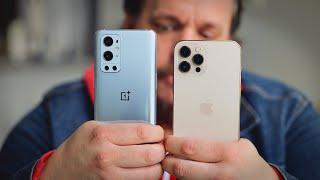 iPhone 12 Pro Max vs. OnePlus 9 Pro camera comparison