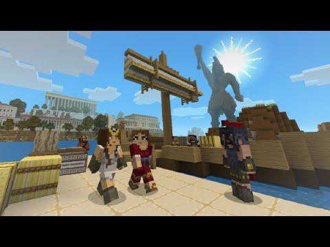 Greek Map Minecraft Minecraft New Greek Mythology