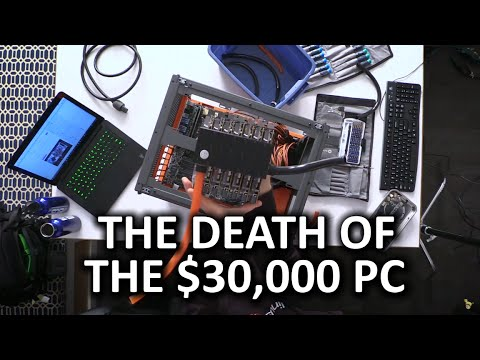 THE $30,000 7 GAMERS 1 CPU BUILD IS NO MORE! - Disassembly Stream