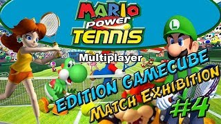 Mario Power Tennis Multiplayer #4