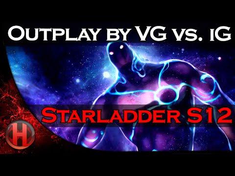 Nice Outplay by VG vs iG  Starladder Season 12 Finals Dota 2