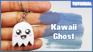 Kawaii Ghost ✰ Tutorial ✰ Polymer Clay ✰ Porcelana Fría