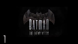Cry Plays: Batman - The Enemy Within [Ep1] [P1]