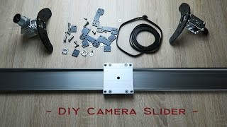 Professional Camera Slider DIY / Tutorial / Motorized / Igus