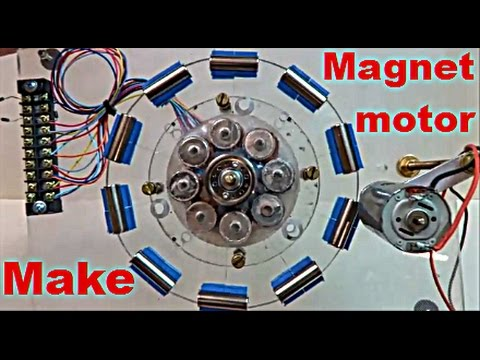 Can You Get Free Energy From Magnet Motor ? - YouTube