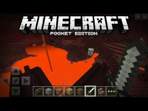 NETHER ADDED TO MCPE Nether Confirmed w Screenshots Minecraft PE Pocket Edition