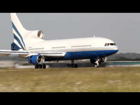 Lockheed L1011 Tristar - Las Vegas sands *N388LS* landing