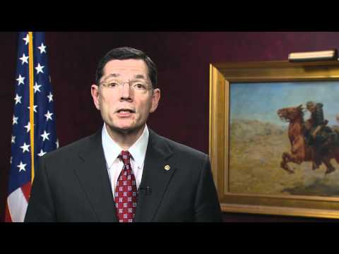 Senator John Barrasso addressing the 2011 WWAMI 40th Year Celebration