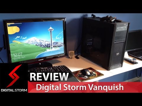 Digital Storm Vanquish Unboxing. Startup and Mini Review!