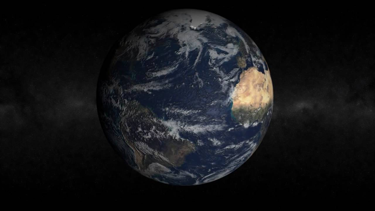 Nasa animation earth