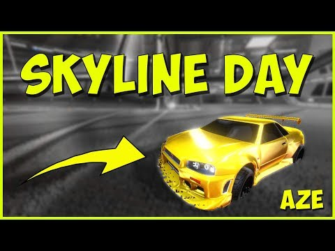SKYLINE DAY [ FREESTYLE ROCKET LEAGUE ] FR