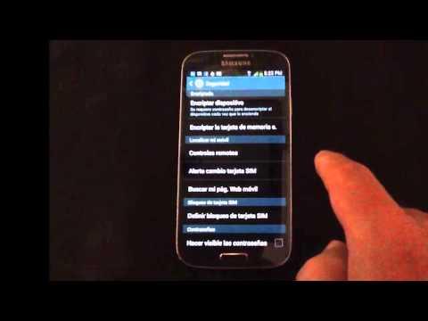 Cómo localizar un Samsung Galaxy S4 desde el PC