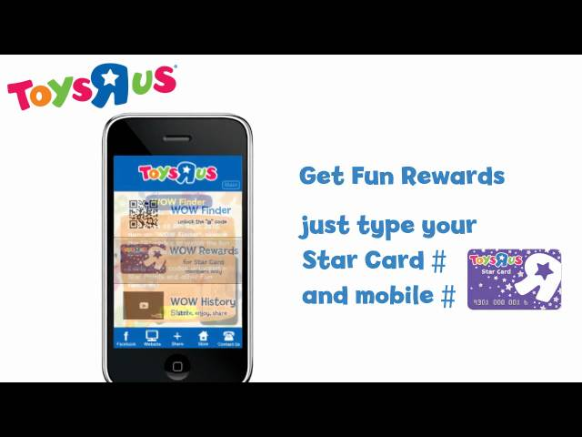 Toys R Us iPhone App - Your WOW and Fun Finder