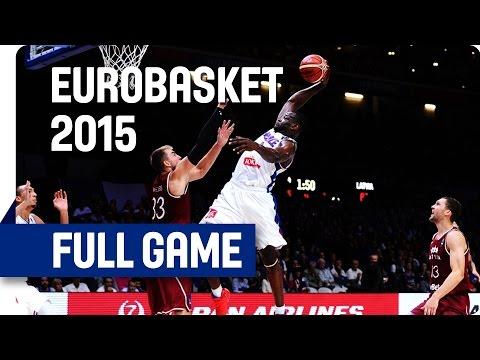 France v Latvia - Quarter Final - Full Game - Eurobasket 2015