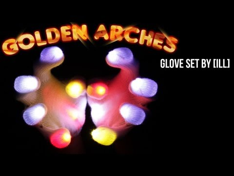 [ILL] Laftr - Golden Arches Glove Light Show [EmazingLights.com]