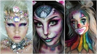 Top 17 DIY Halloween Makeup Tutorials Compilation 2017 Best
