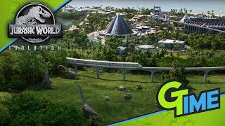 WIR BAUEN UNSEREN EIGENEN DINO PARK! - Lets Play Jurassic World Evolution #01 German | Gamerstime