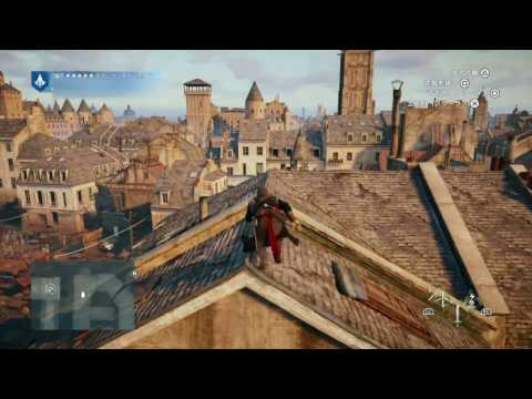 Assassin's Creed® Unity PS4 Pro ver.4.50 Boost Mode Game Play ブーストモード