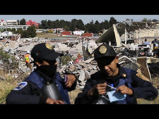 انفجار کامیون توزیع گاز در زایشگاهی در مکزیکوستی