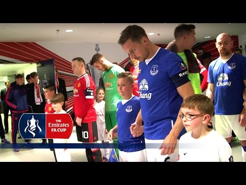Everton 1-2 Manchester United - Tunnelcam (2015/16 Emirates FA Cup Semi-Final) | Inside Access