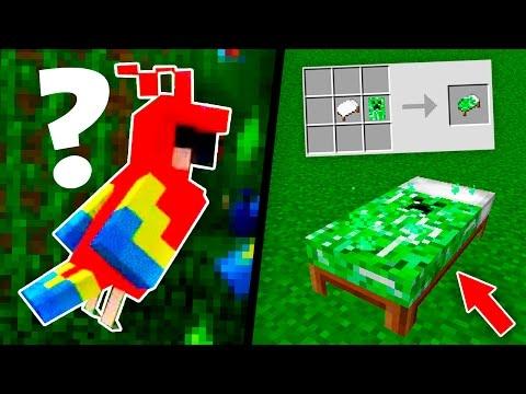 ПОПУГАИ И ЦВЕТНЫЕ КРОВАТИ В Minecraft 1.12 | МАЙНКРАФТ НОВОСТИ