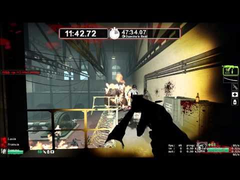 Left 4 Dead 2 - Survival - Duo Generator room 21min with Domino