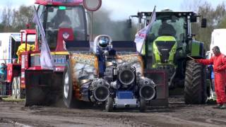 Modified 3,5t @ Füchtorf 2016-04-24 Tractor Pulling by MrJo