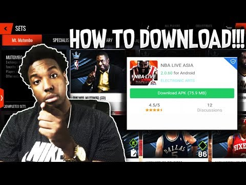 HOW TO DOWNLOAD NBA LIVE MOBILE ASIA FOR ANDROID/IOS!!!