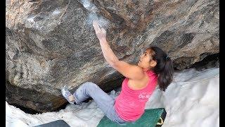 FL Athlete Juliet Hammer cruises Terrorism Arete and Riddles In The Dark in RMNP, CO!