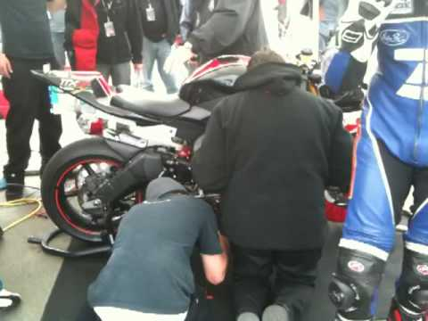 Native Electric Motorsport Minutes Before TTXGP At Infineon