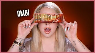 URBAN DECAY NAKED HEAT Collection - Review & Swatches