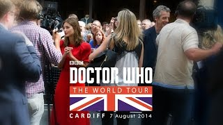 DOCTOR WHO World Tour - Cardiff - Doctor Who Series 8