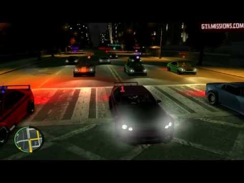 GTA IV - PC - 5/21/13 - Flat Tire Race with Sports Cars & GTA Race with Mananas!