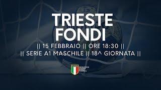 Serie A1M [18^]: Trieste - Fondi 29-23