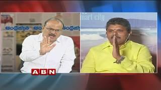 Debate on CM Ramesh Hunger Strike for Kadapa Steel Plant | Public Point | Part 1