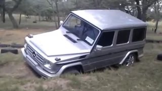 Mercedes G Class Off-Road Driving